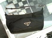 PRADA Handbag BLACK NYLON MAKEUP BAG